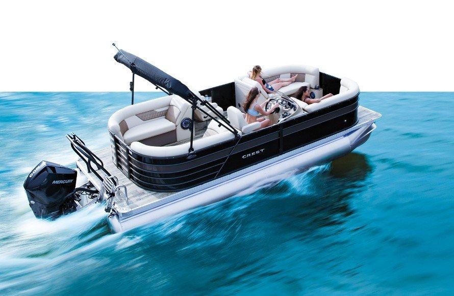 Crest Classic LX 200 SLC pontoon boat