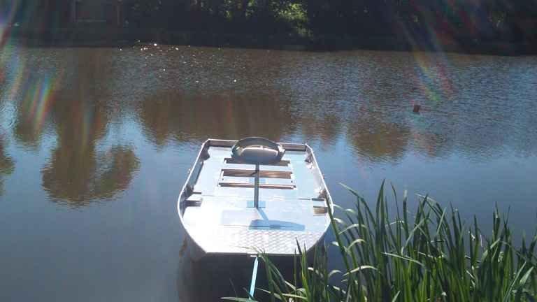 Aluminium welded boat