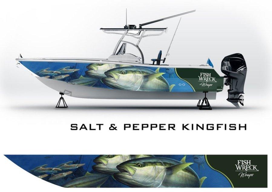 Saly & Pepper Kingfish