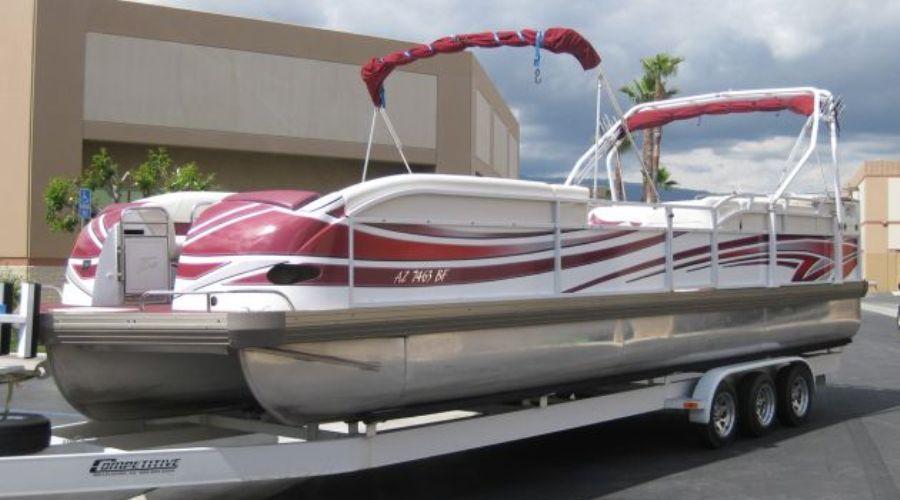 Tri-toon-boat-wrap