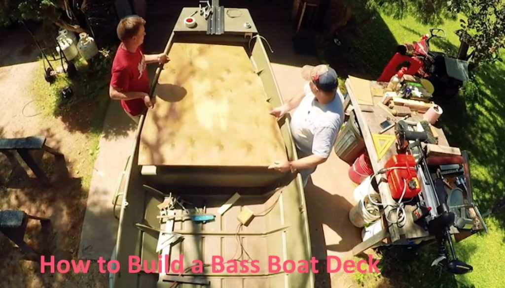 How to Build a Bass Boat Deck