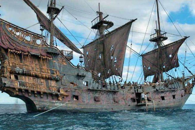 Queen Anne's Revenge pirate ship
