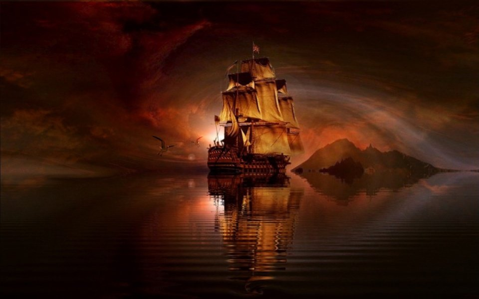 The whydah pirate ship